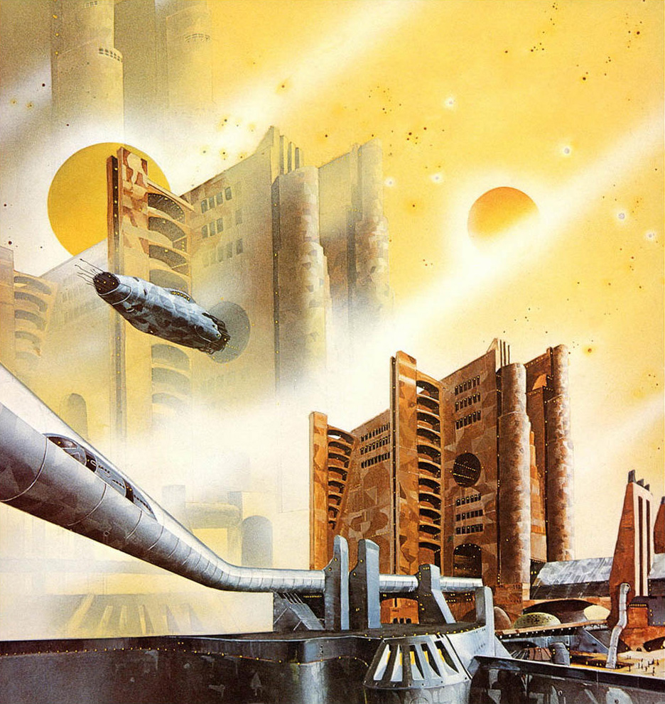 70s Sci Fi Art Chris Foss: Tony Roberts